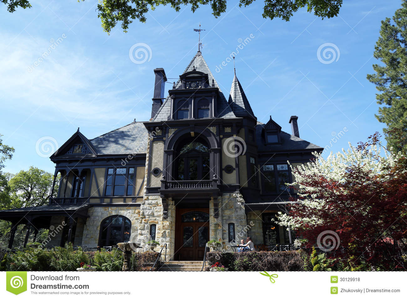 The Rhine House At Beringer Winery In Napa Valley