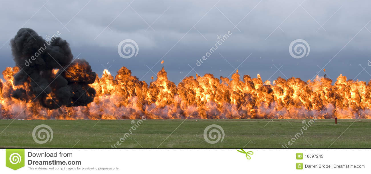 napalm explosion stock image image of warfare
