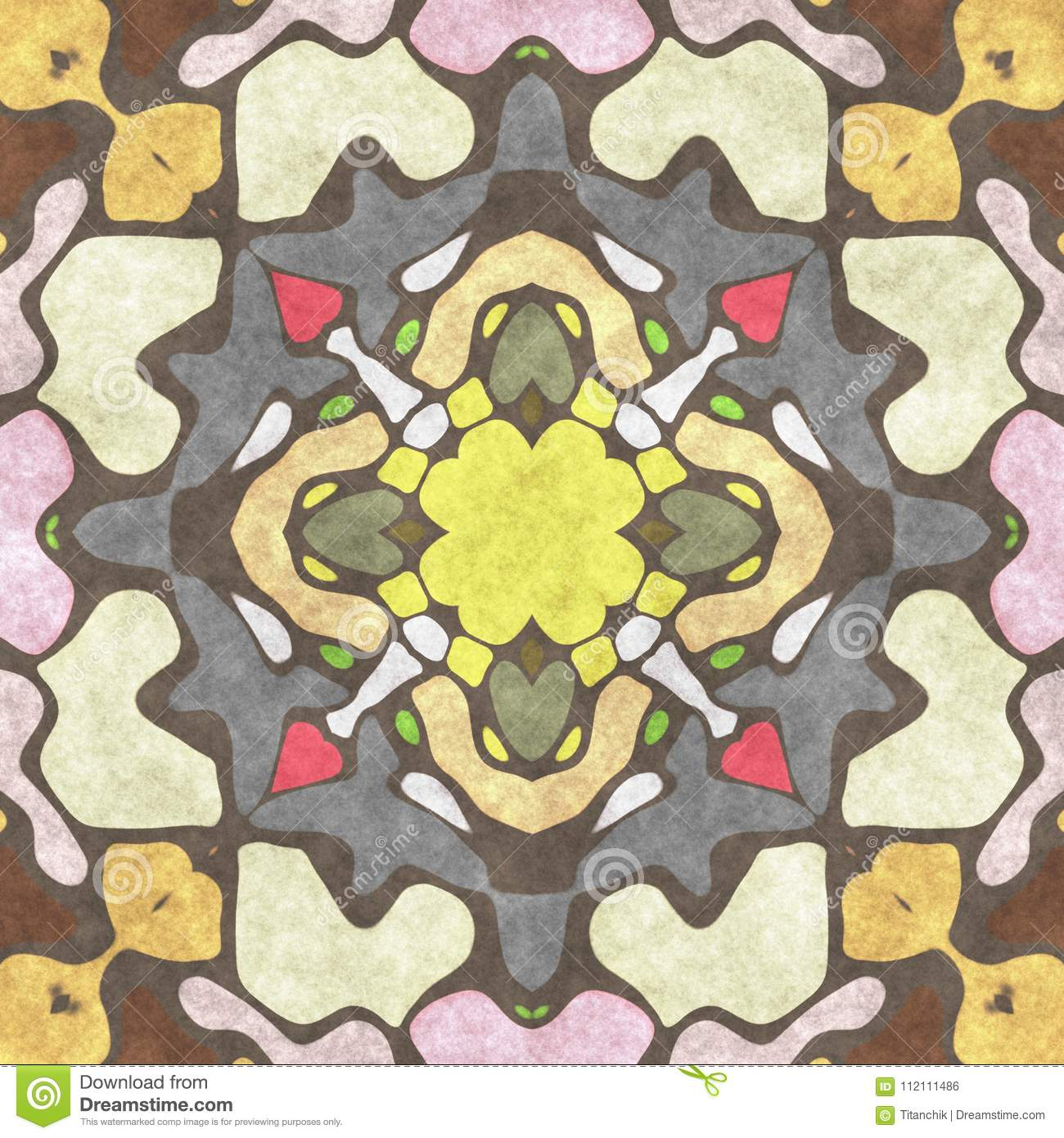 Abstract Geometry Ornate- Home Decor. Decorative Wall- Art Desig ...