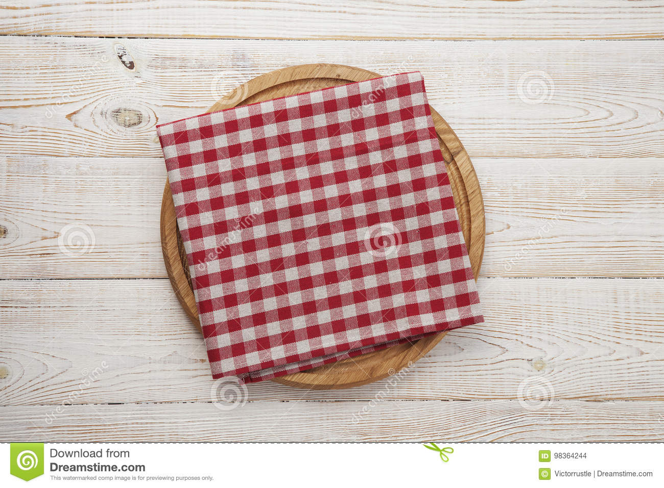 Napkin Stack Of Colorful Dish Towels On White Wooden Table Background Top View Stock Photo Image Of Abstract Pizza 98364244