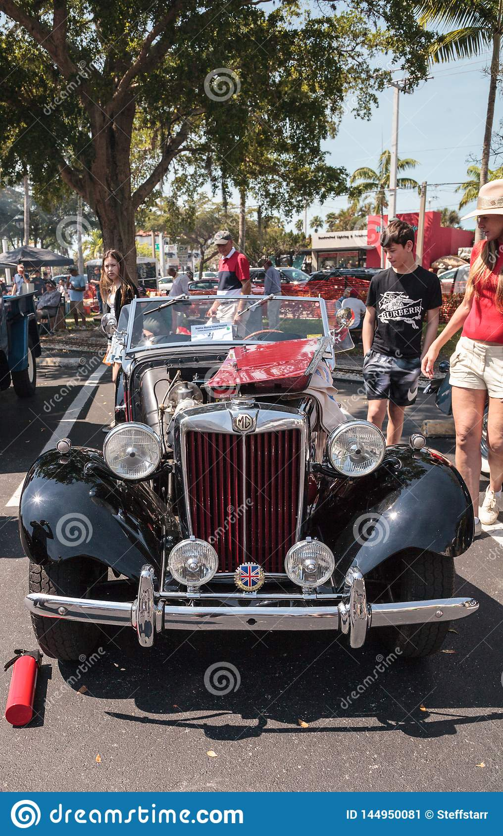 Naples Car Show >> Black 1951 Mg To At The 32nd Annual Naples Depot Classic Car