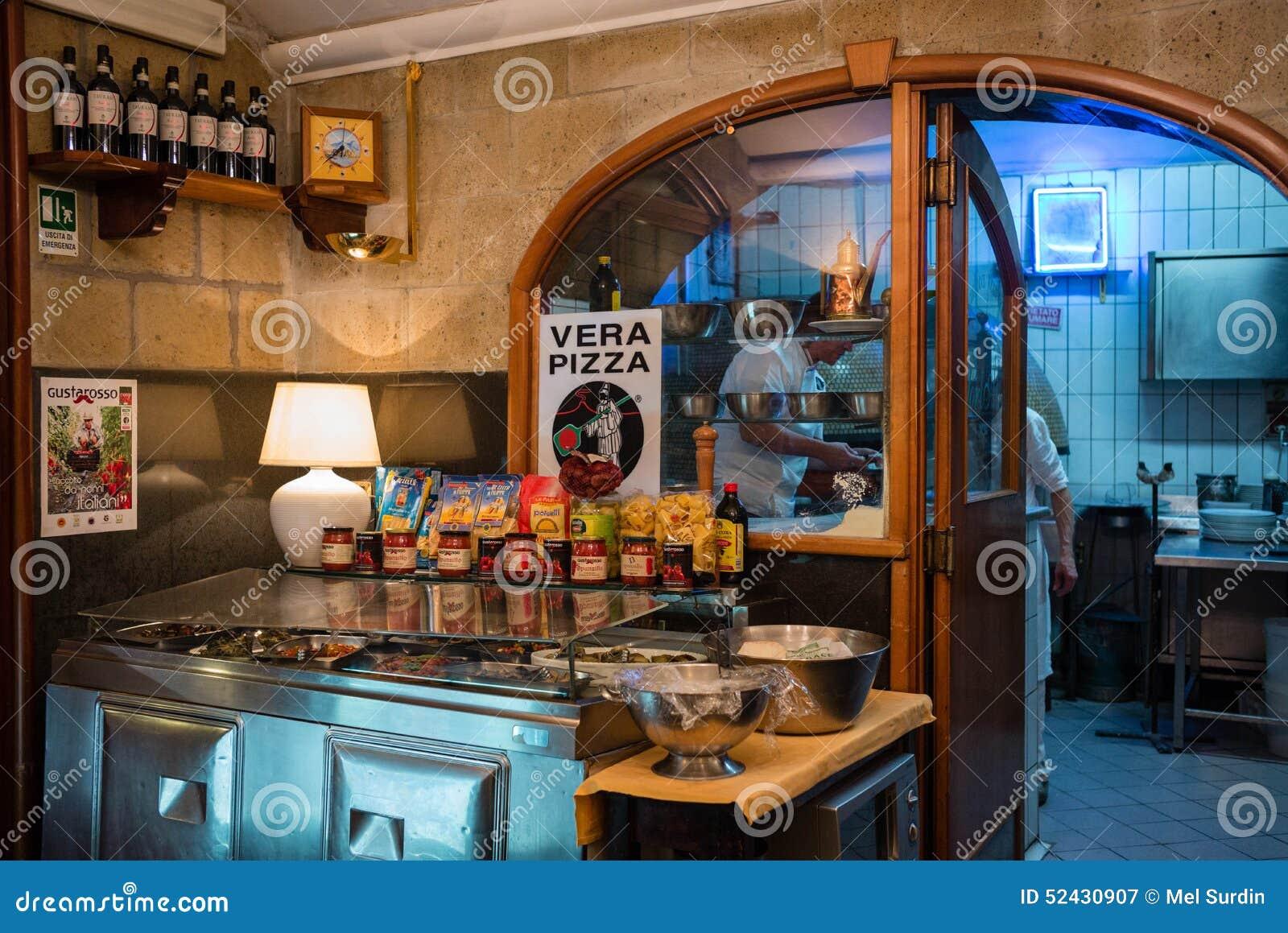 Condiments Interior Italy Naples