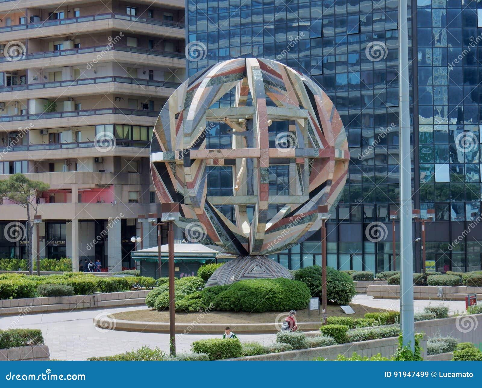 Naples - Sculpture at the Management Center