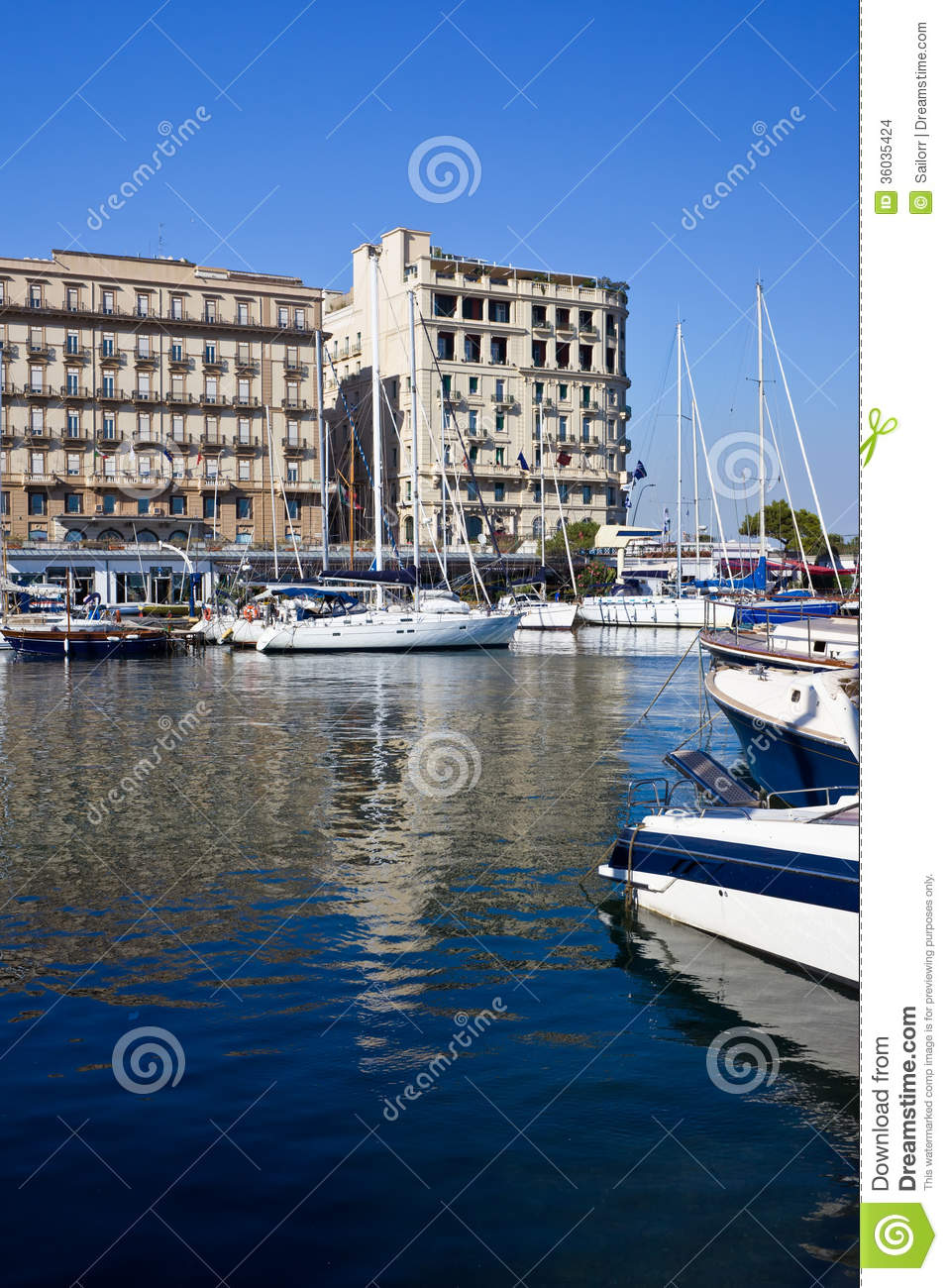 Zone Italy  city pictures gallery : naples view beautiful marina mergellina zone italy 36035424