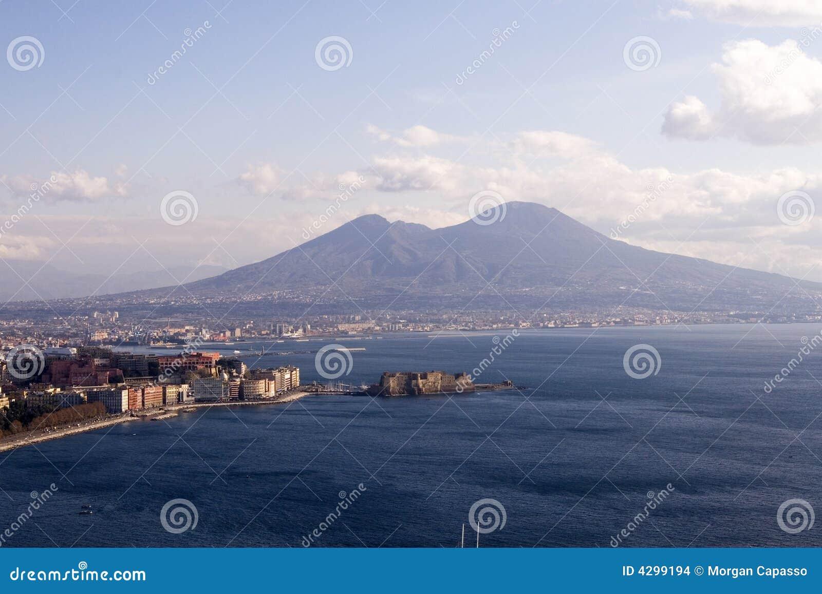 Napoli e Mt. Vesuvio