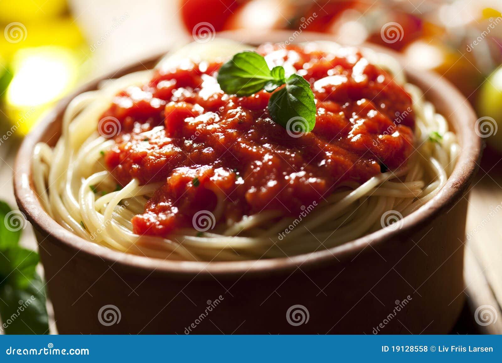 Napolitana do espaguete