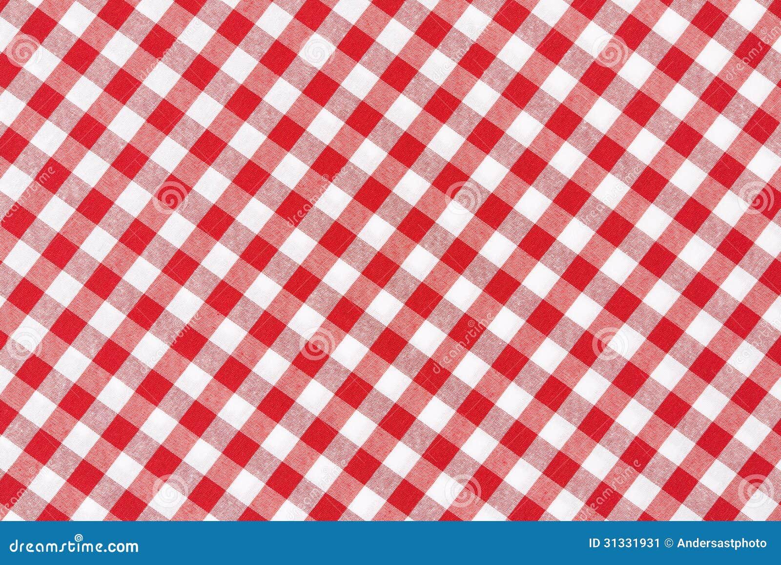 nappe rouge et blanche image stock image du propre diagonal 31331931. Black Bedroom Furniture Sets. Home Design Ideas