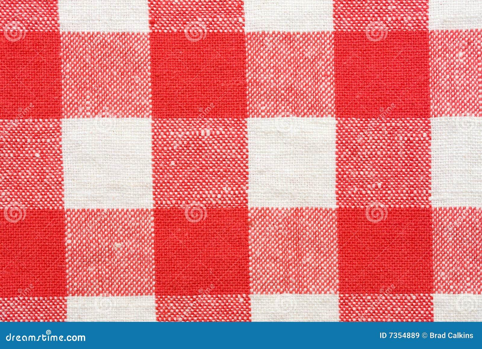 nappe rouge et blanche image stock image du tissu rouge 7354889. Black Bedroom Furniture Sets. Home Design Ideas
