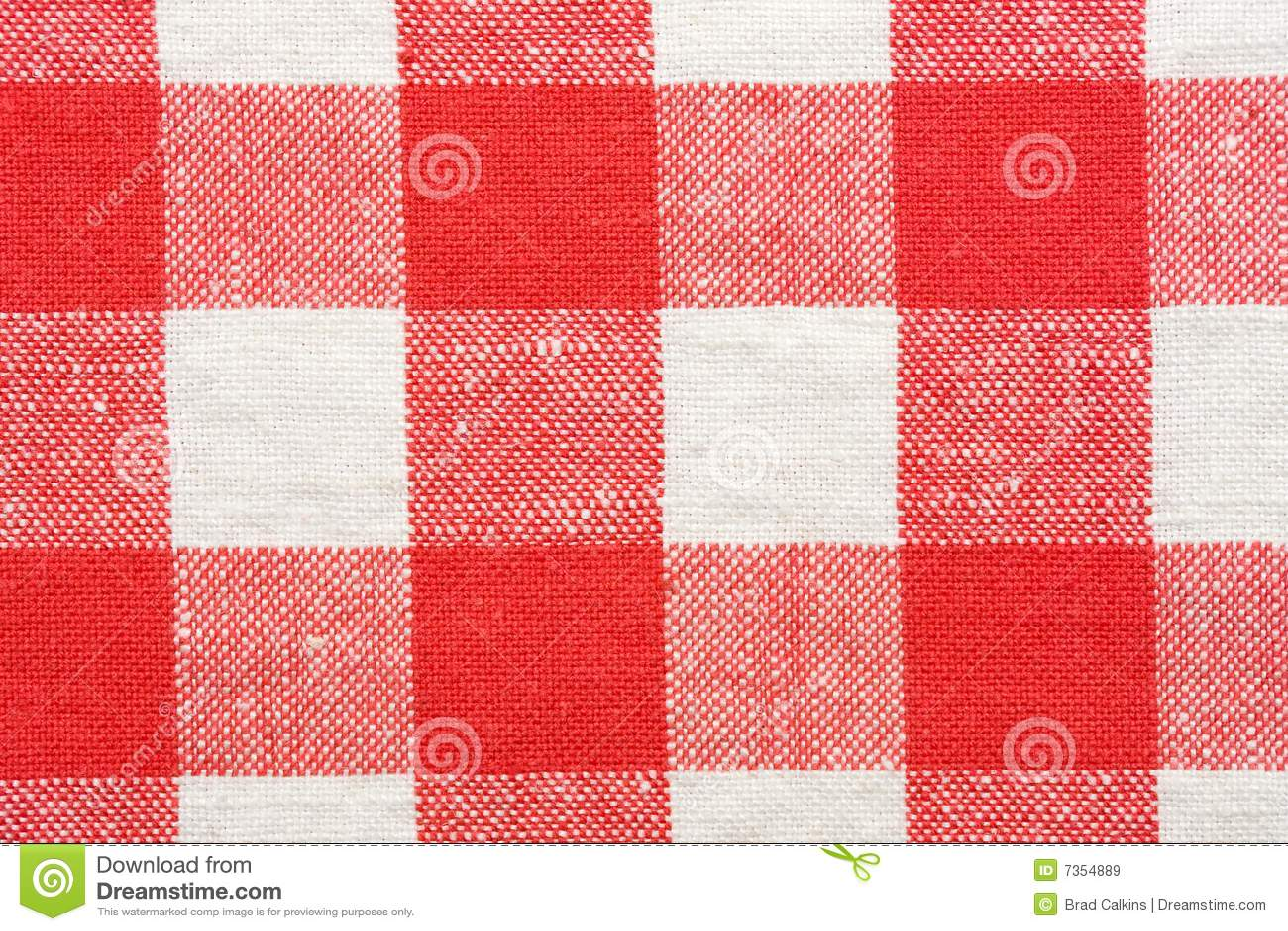 nappe rouge et blanche images libres de droits image 7354889. Black Bedroom Furniture Sets. Home Design Ideas
