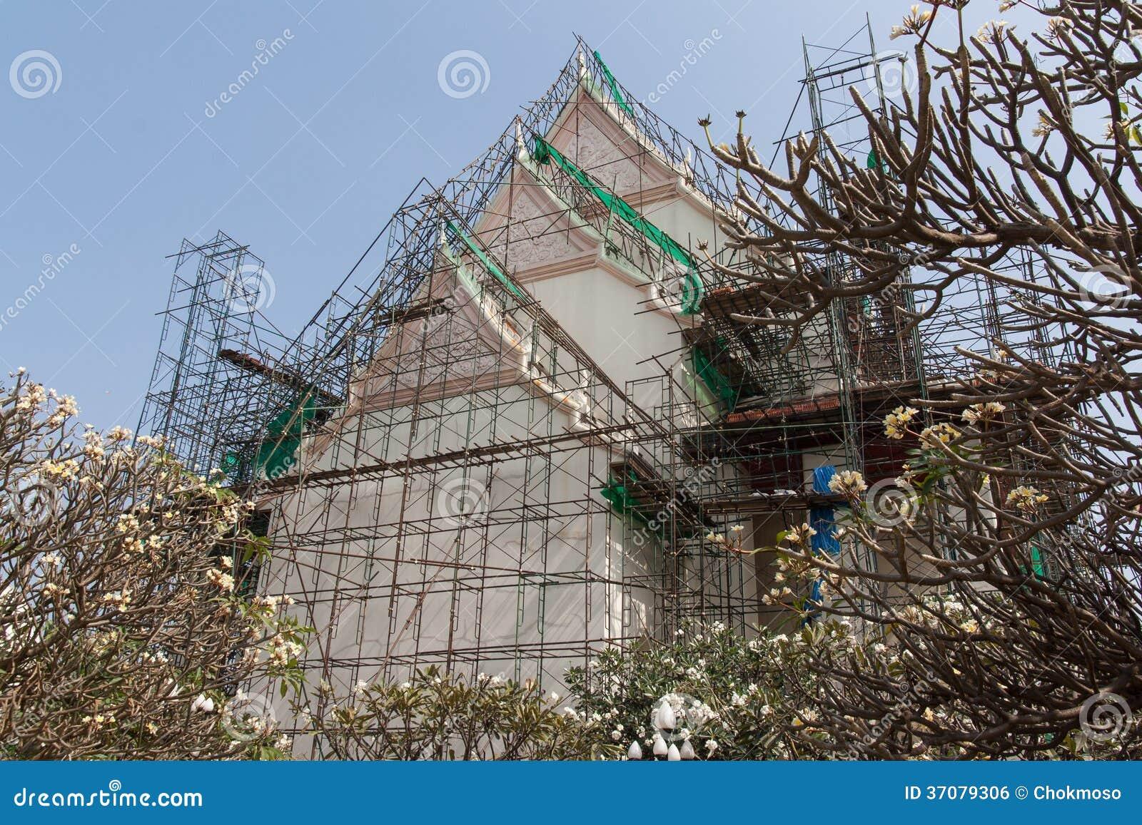 Download Naprawa zdjęcie stock. Obraz złożonej z świątynia, odzyskuje - 37079306