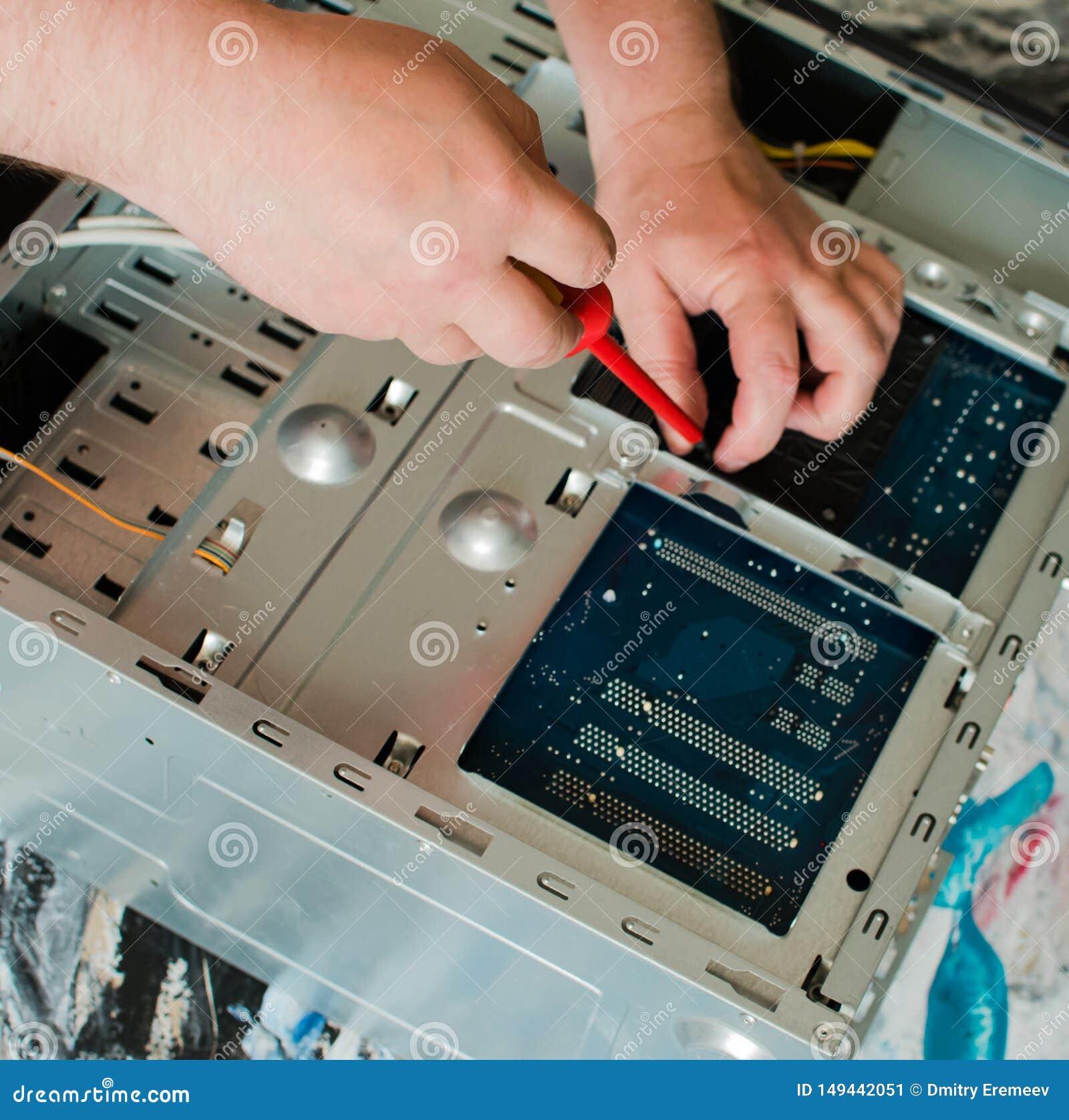 Naprawa system jednostka stacjonarny komputer osobisty