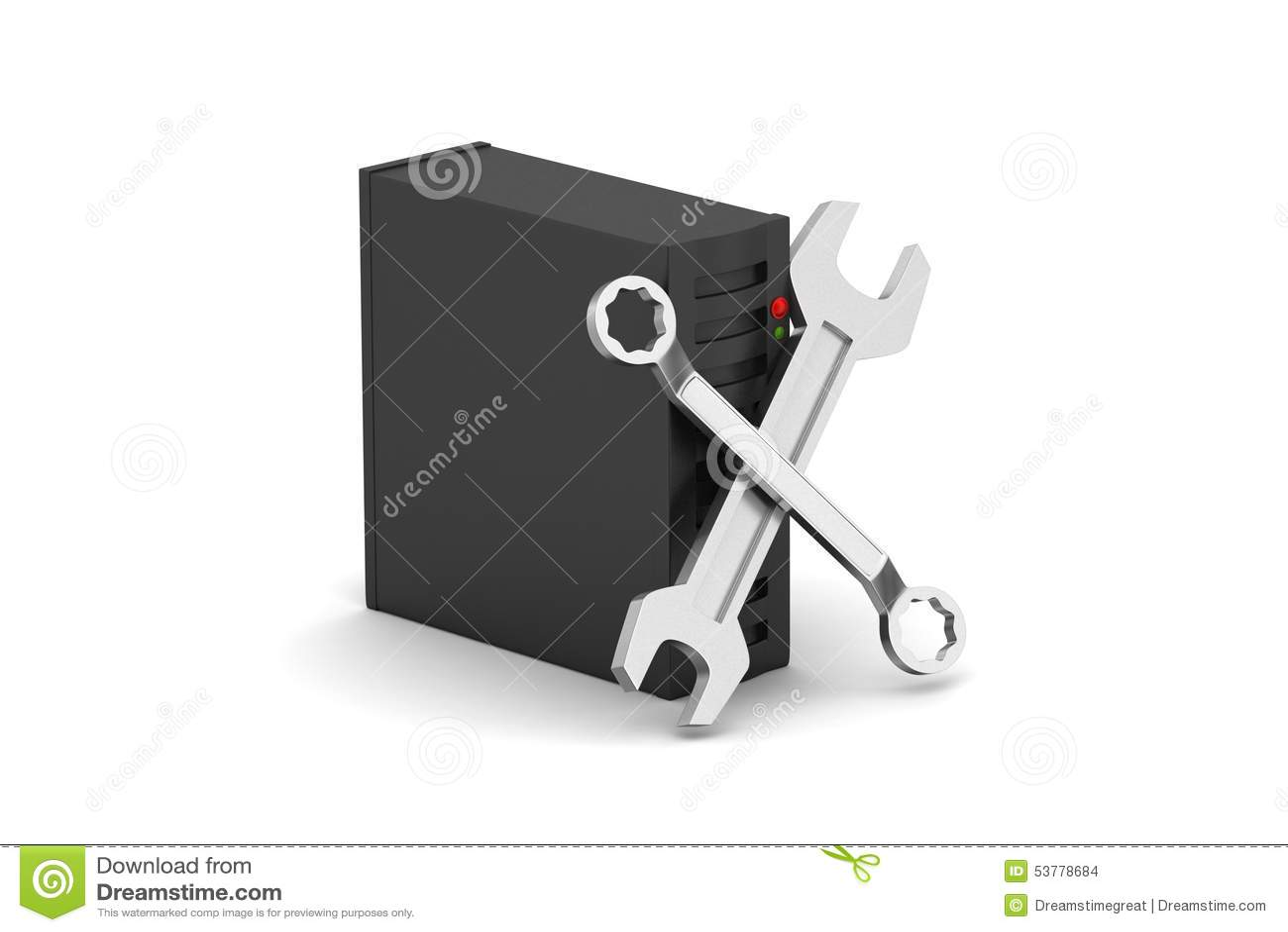 Naprawiać narzędzia z serwerem
