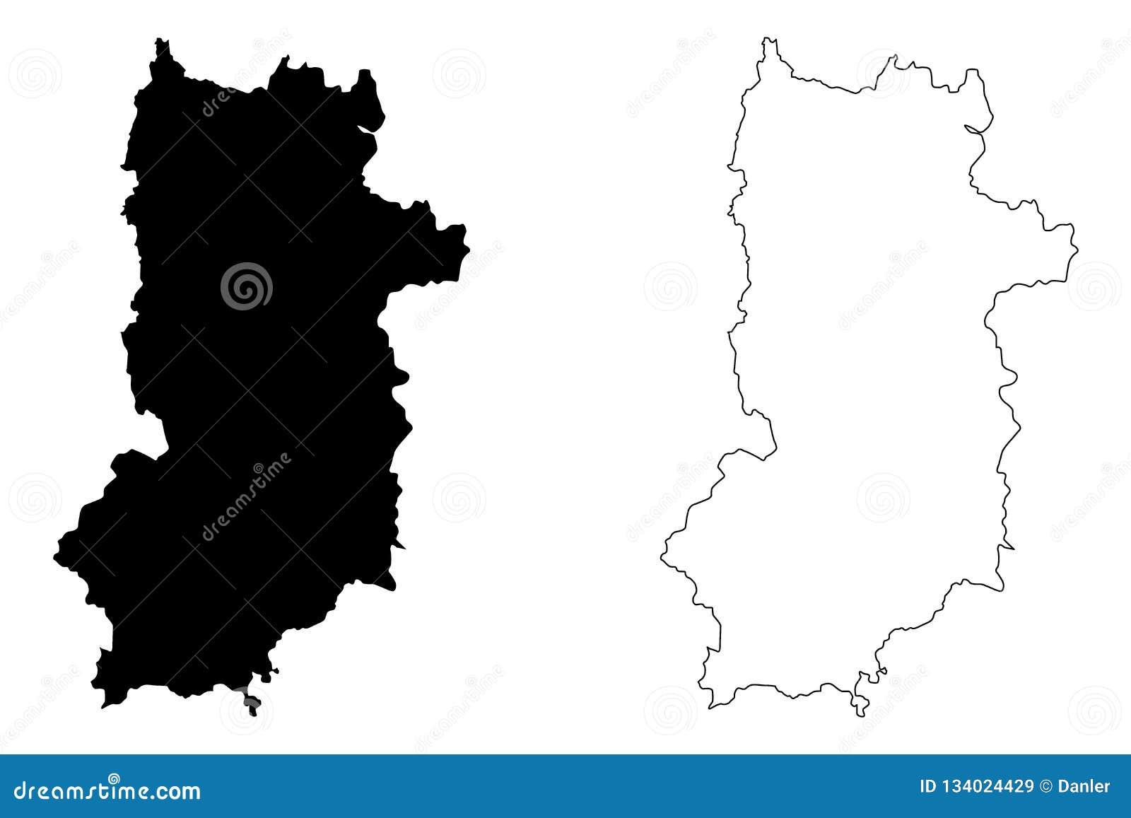 Nara Prefecture Map Vector Stock Vector Illustration Of Archipelago