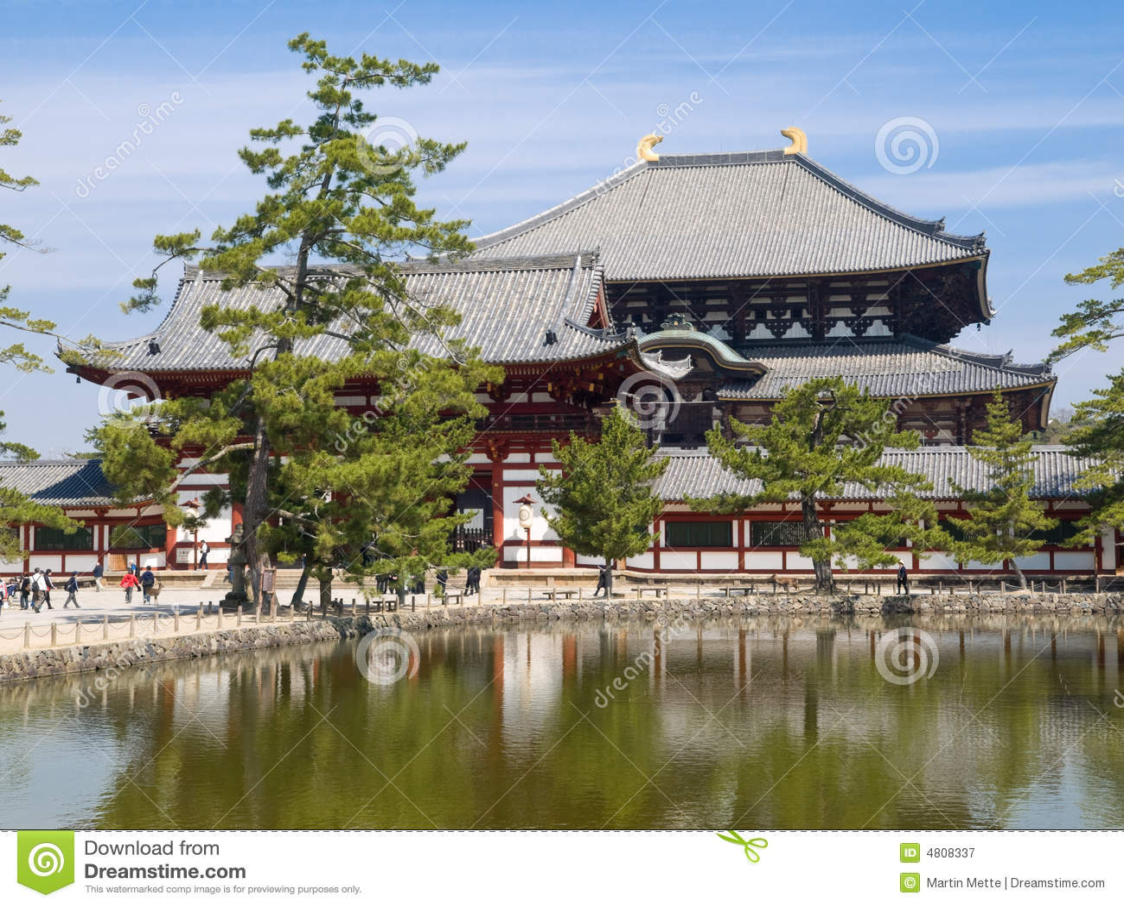 Nara Todaiji Temple Royalty Free Stock Photography - Image ...