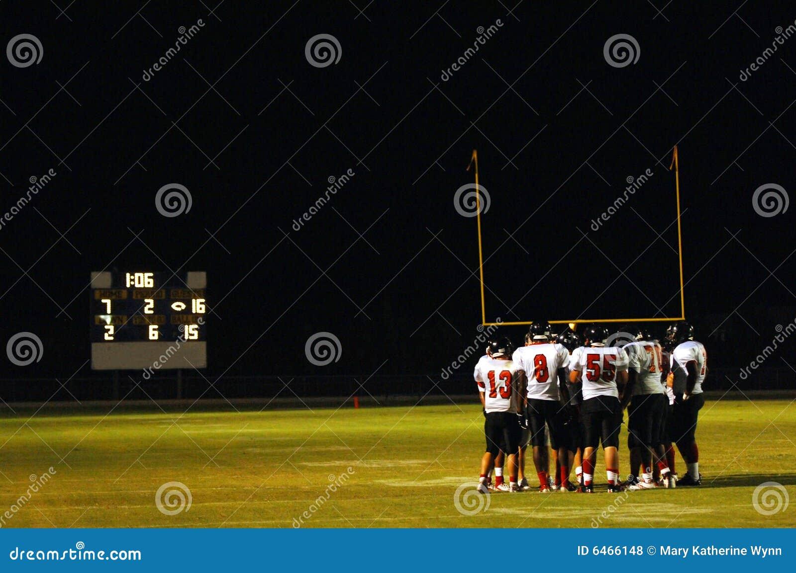 Naradę mecz piłki nożnej noc