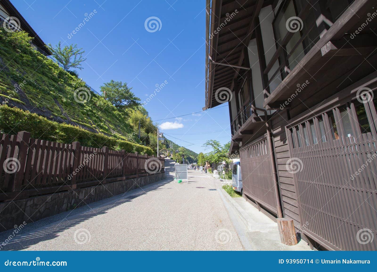 Narai is een kleine stad in de Prefectuur Japan van Nagano