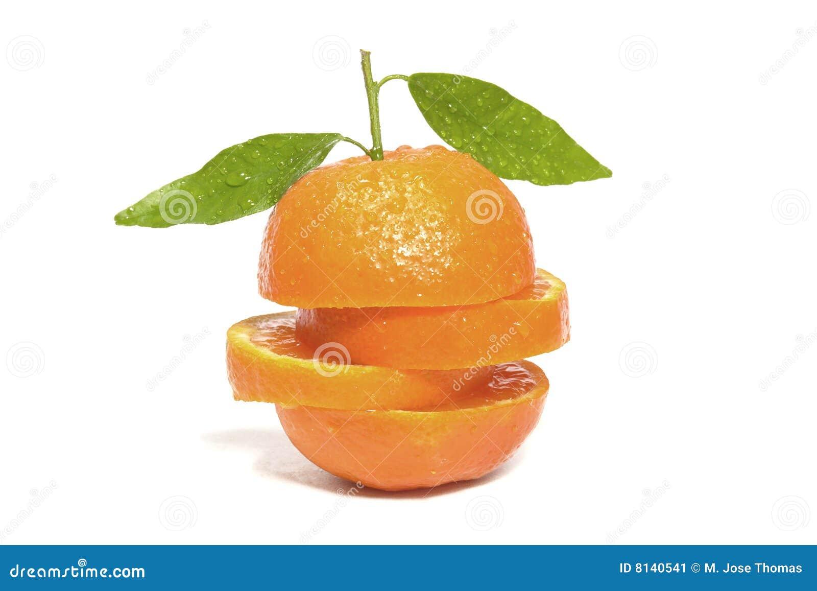 Naranja de la clementina