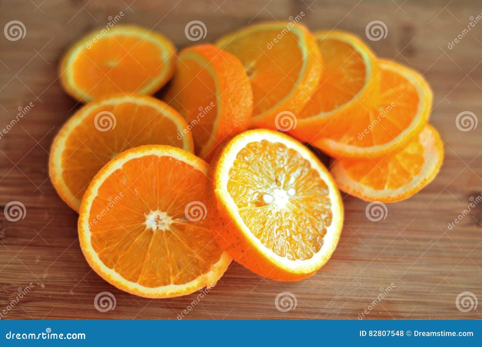 Naranja rebanada