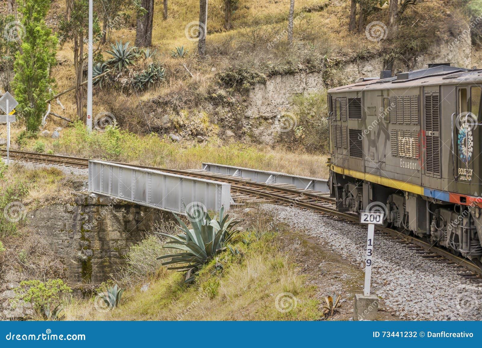 Nariz Del Diablo Trenujący wycieczka Alausi Ekwador