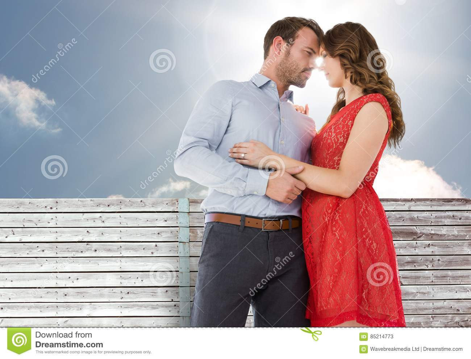 Nariz romântico da fricção dos pares