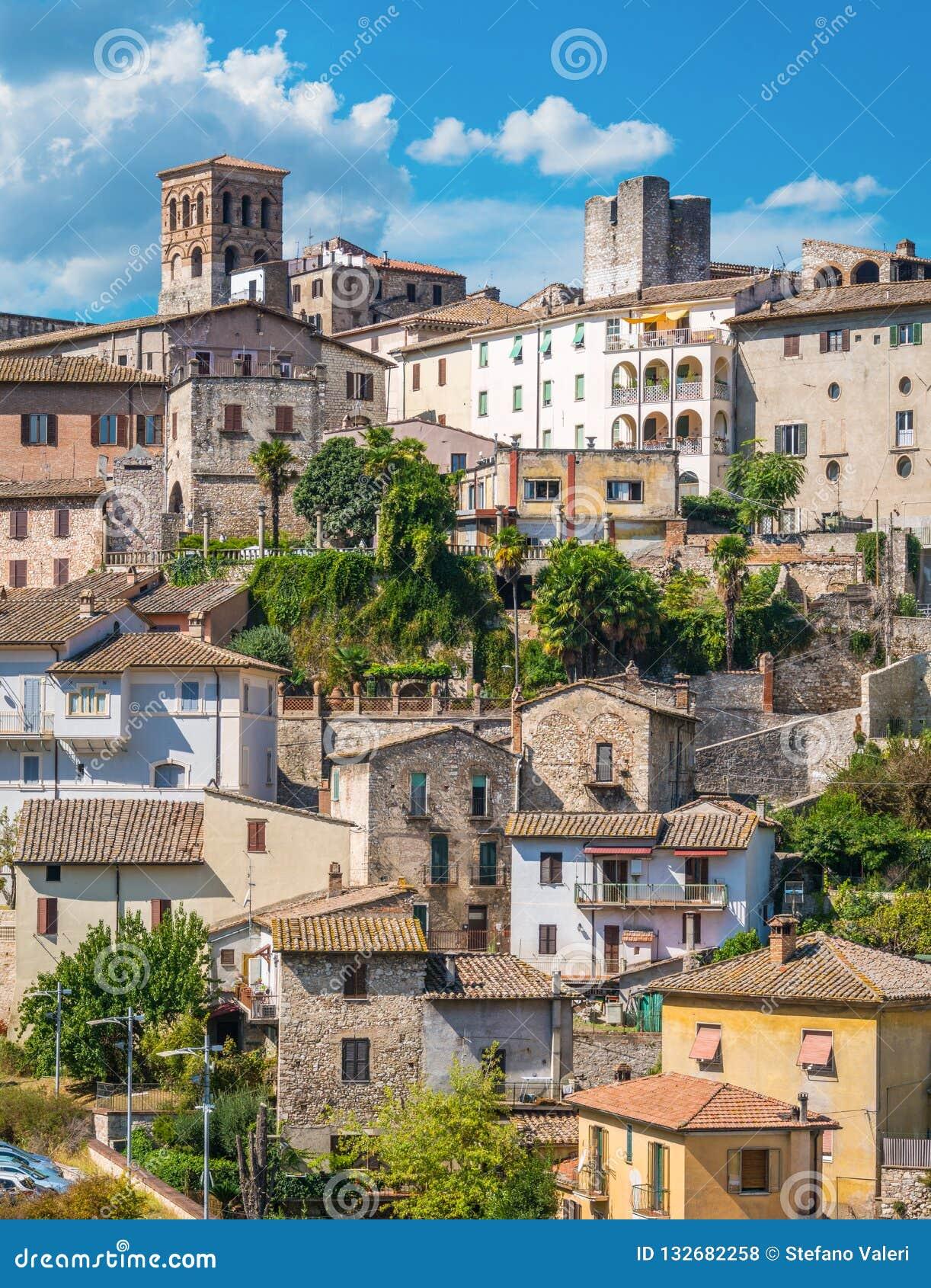 Narni, αρχαία πόλη στην επαρχία Terni Ουμβρία, κεντρική Ιταλία