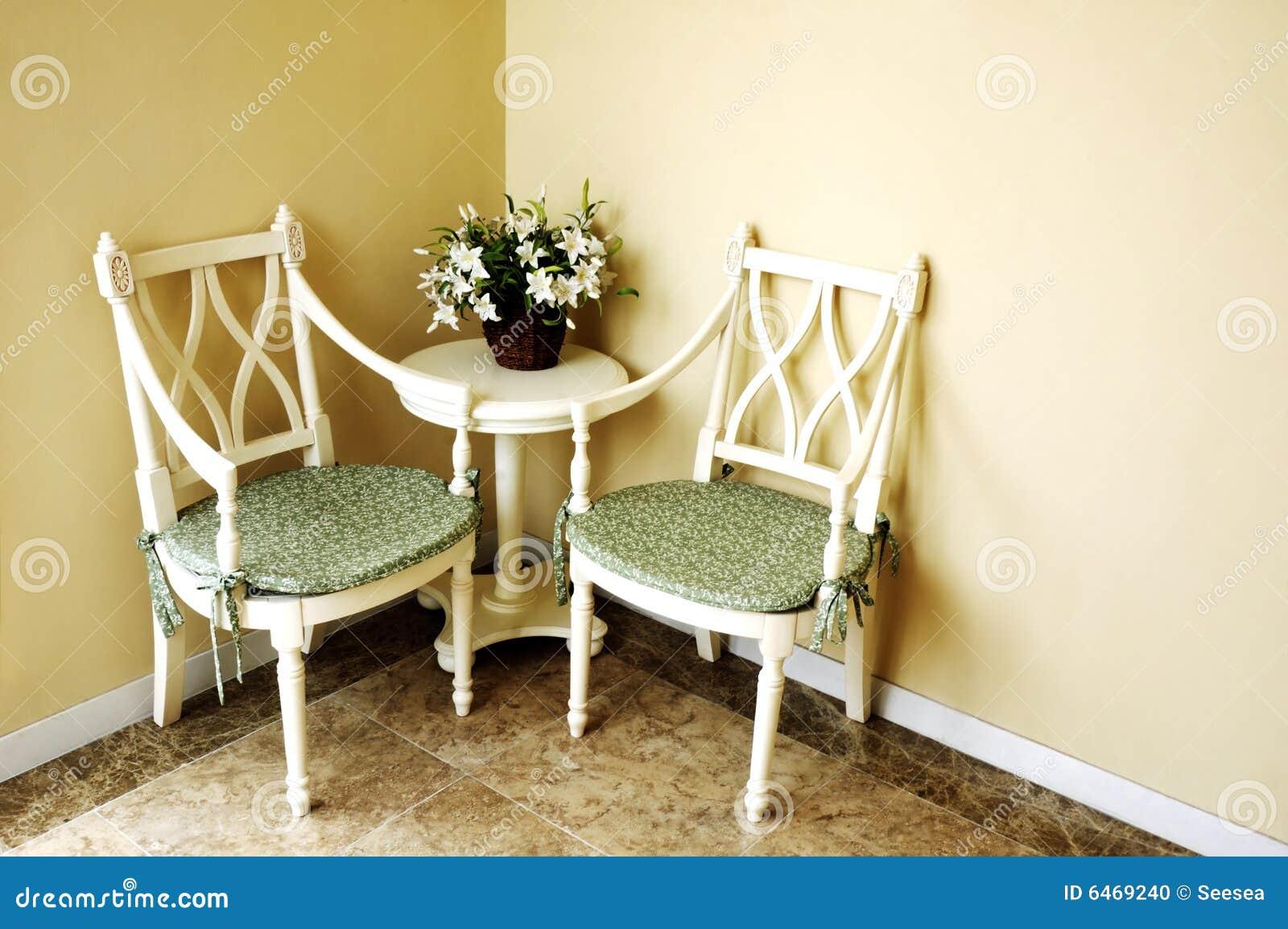 Narożny pokój wewnętrzny