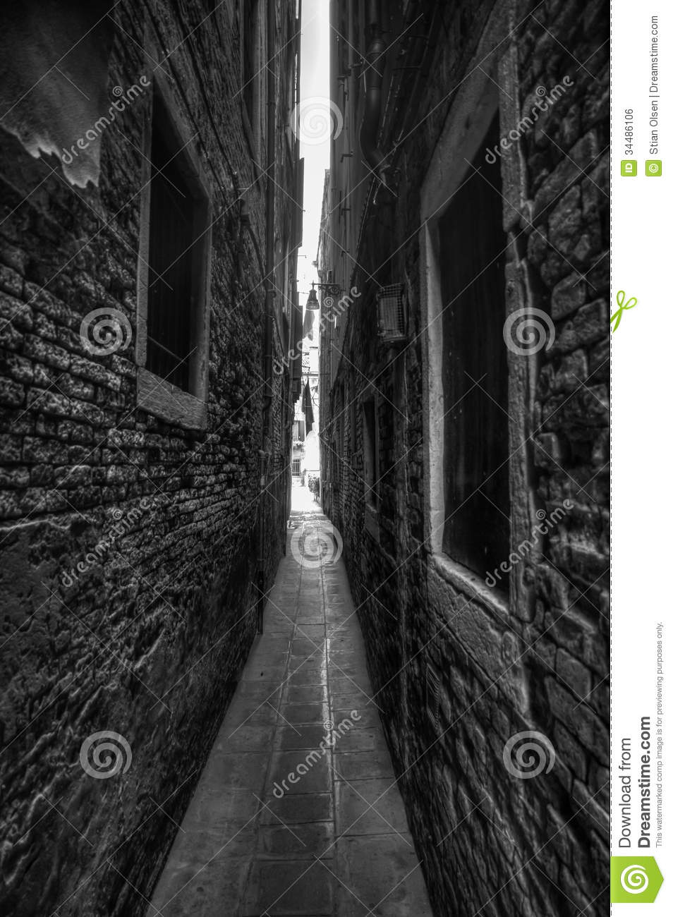 The alleyway was narrow and littered with trash.' | Fight or ...
