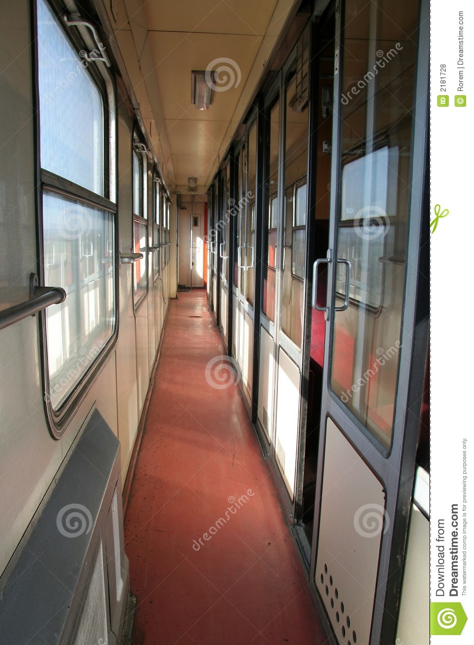 Old Fashioned Train Carriages
