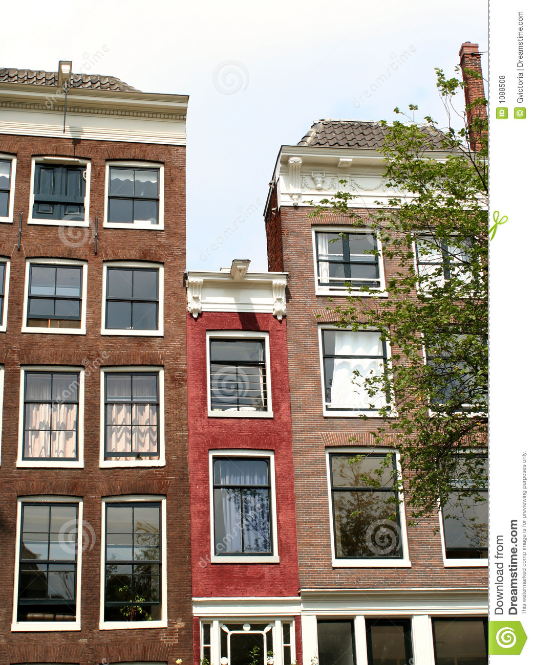 Narrow House Royalty Free Stock Photos - Image: 1088508