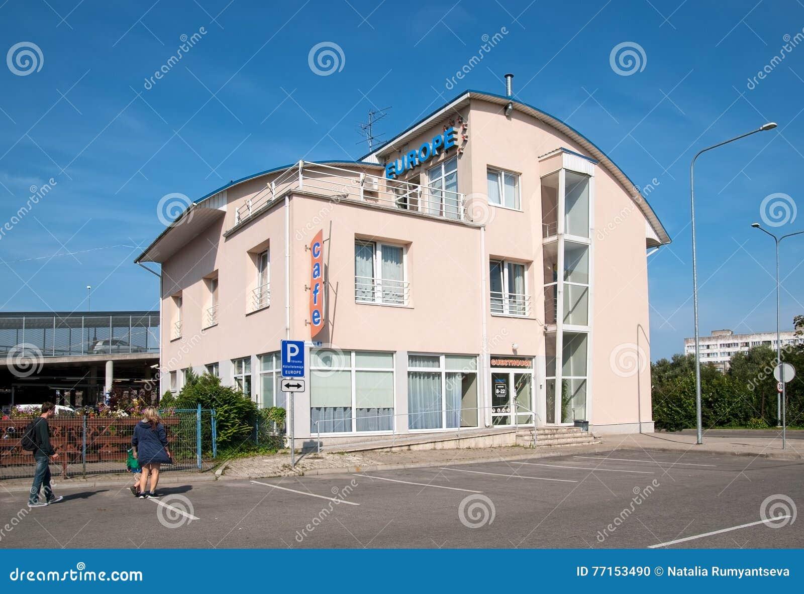 Narva l Estonie Maison d hôtes de l Europe