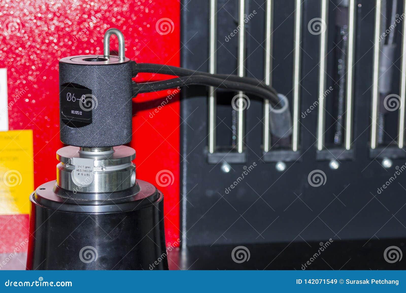 Narzędziowy położenie na narzędziowej presetter maszynie dla cnc machining centrum
