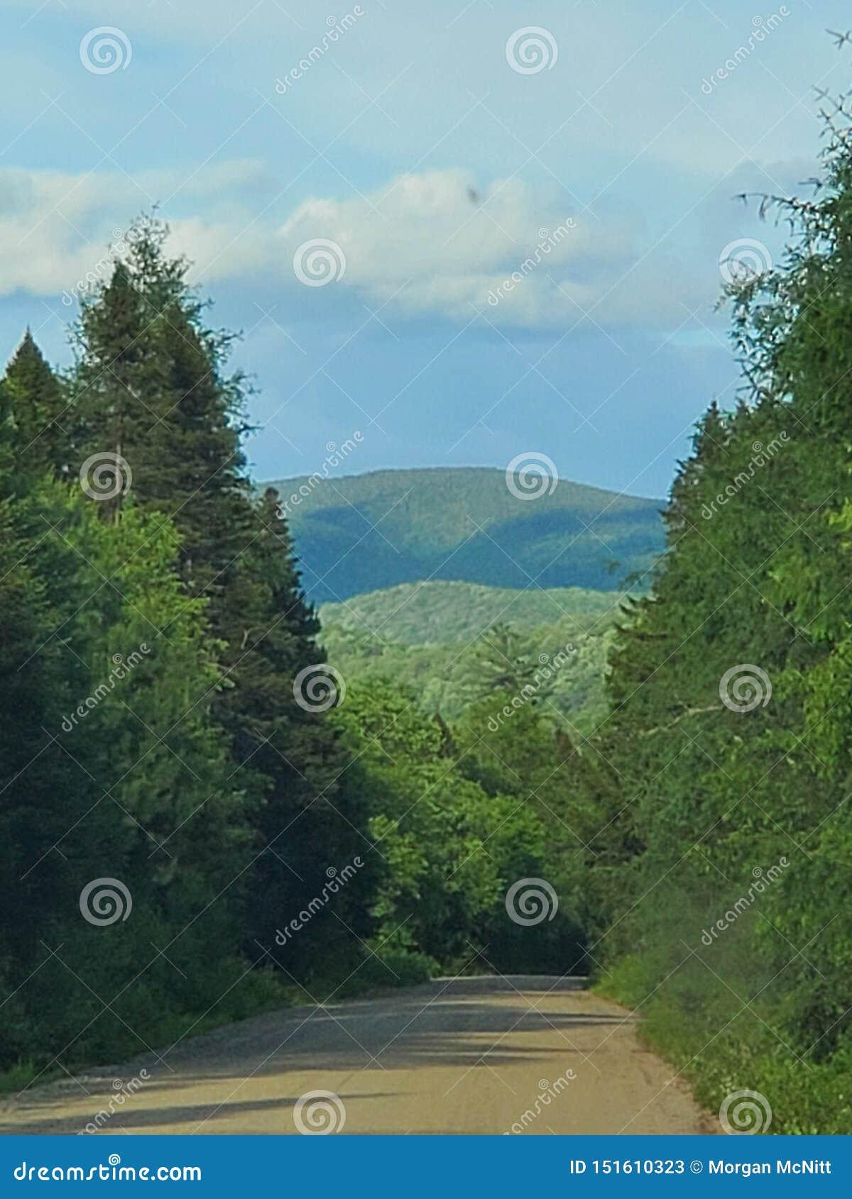 Nas montanhas