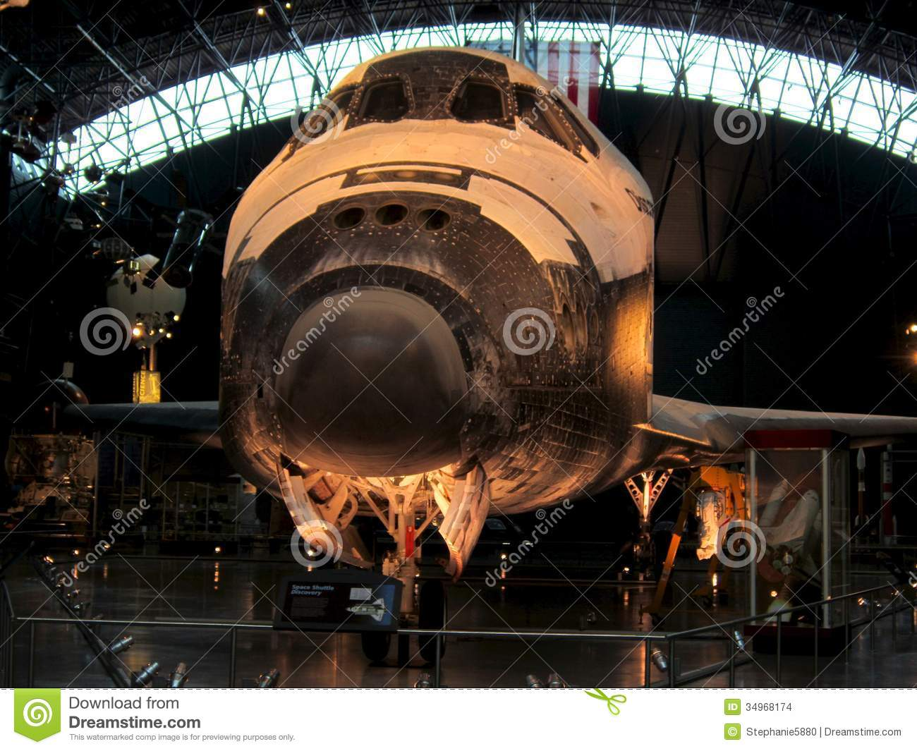 NASA Air And Space Museum Shuttle Editorial Stock Image ...