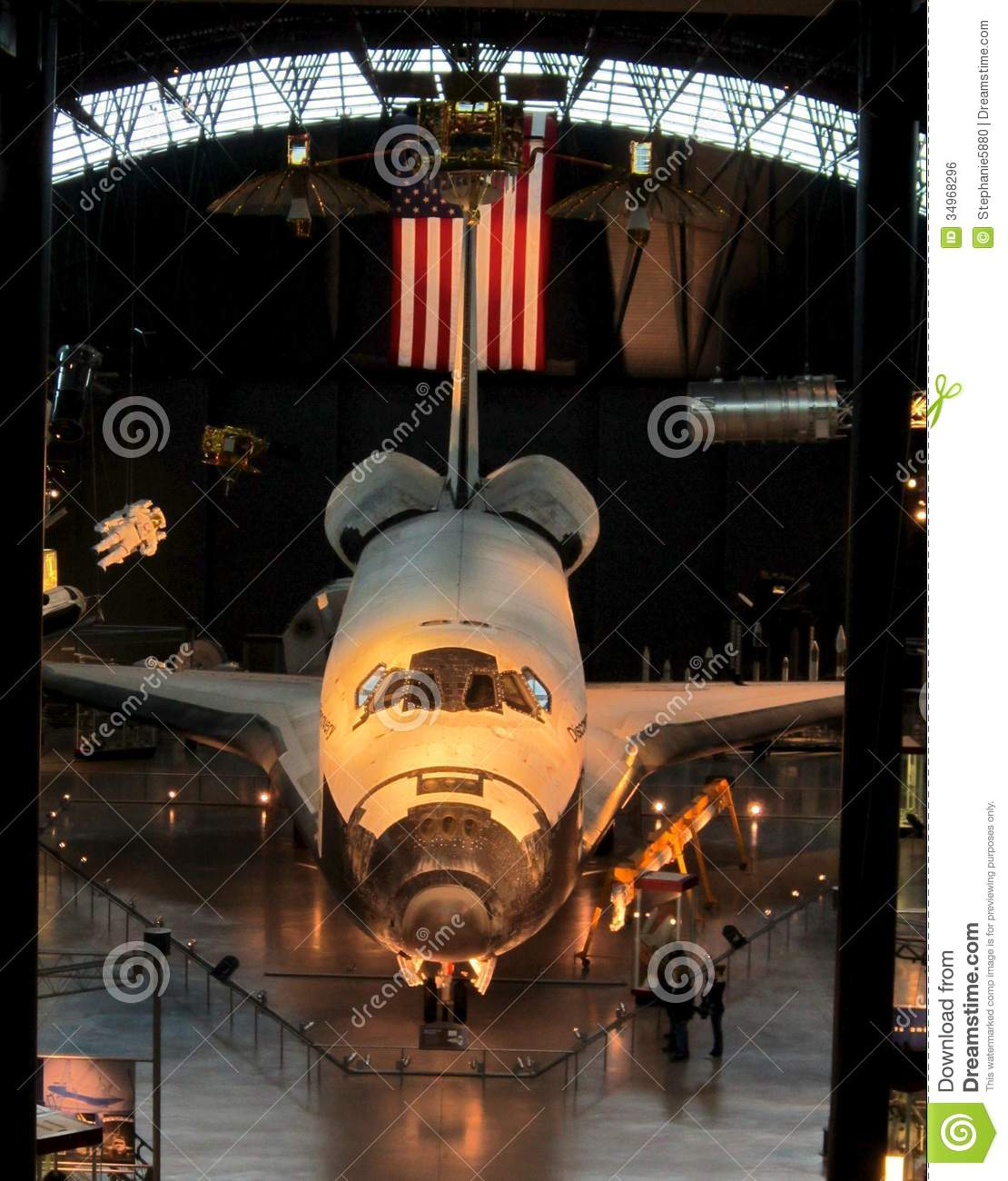 NASA Air And Space Museum Shuttle Editorial Photo - Image ...