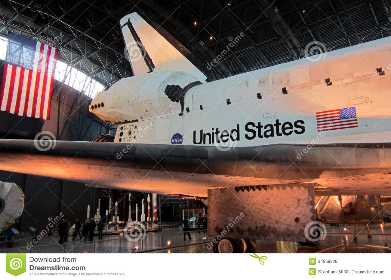 NASA Air And Space Museum Shuttle Editorial Stock Photo ...