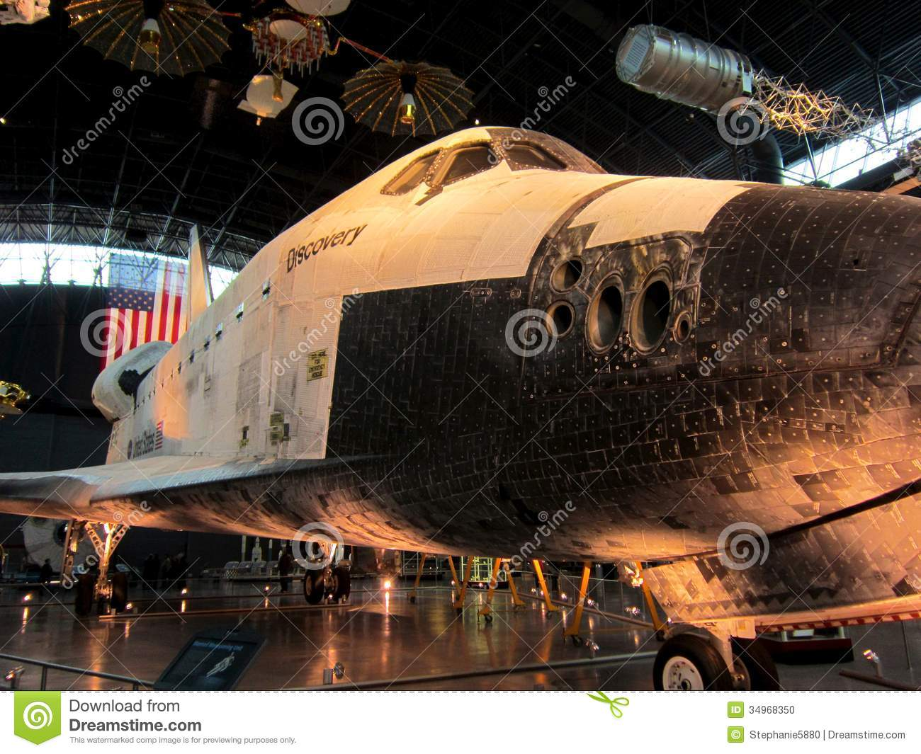 NASA Air And Space Museum Shuttle Editorial Image - Image ...