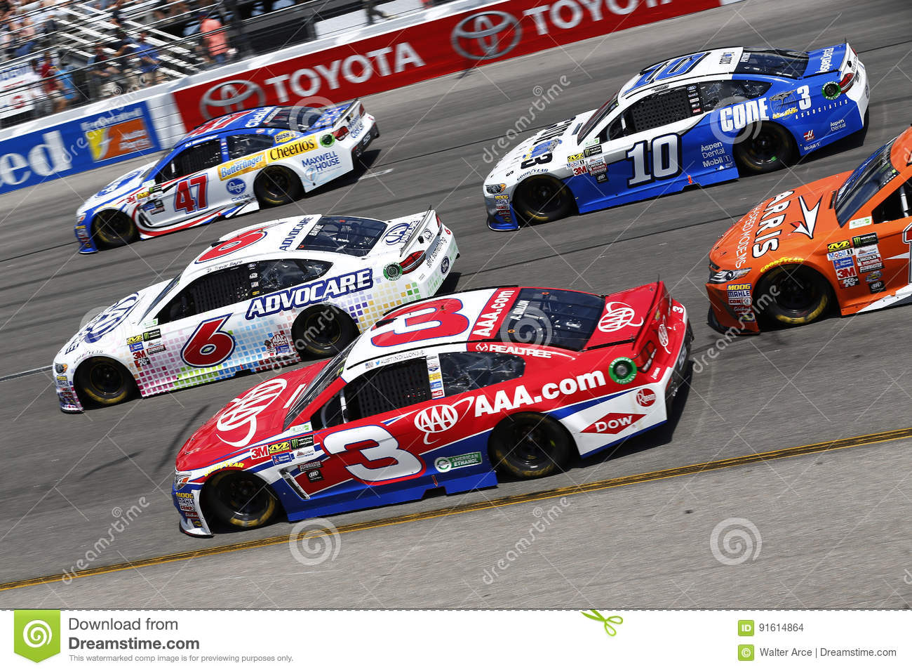 Nascar April 30 Toyota Owners 400 Editorial Stock Image