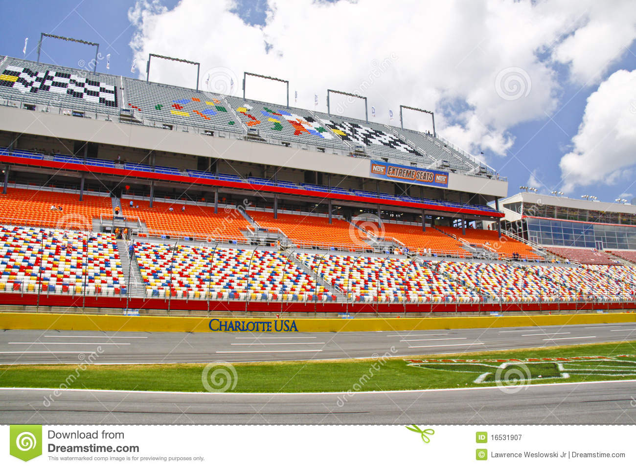 The gallery for nascar racetrack clipart for Charlotte motor speedway pictures