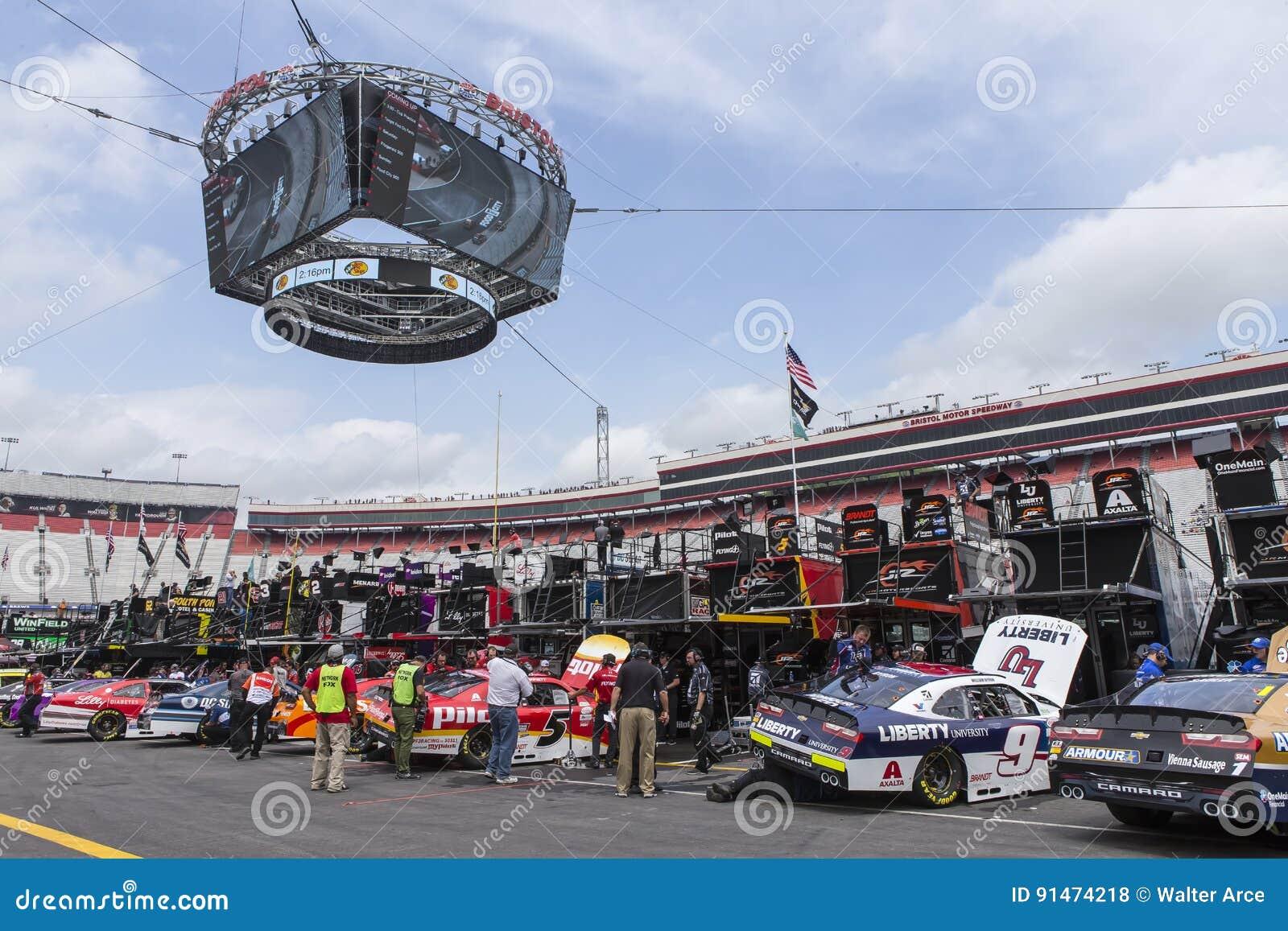NASCAR: Cidade 500 do alimento do 21 de abril