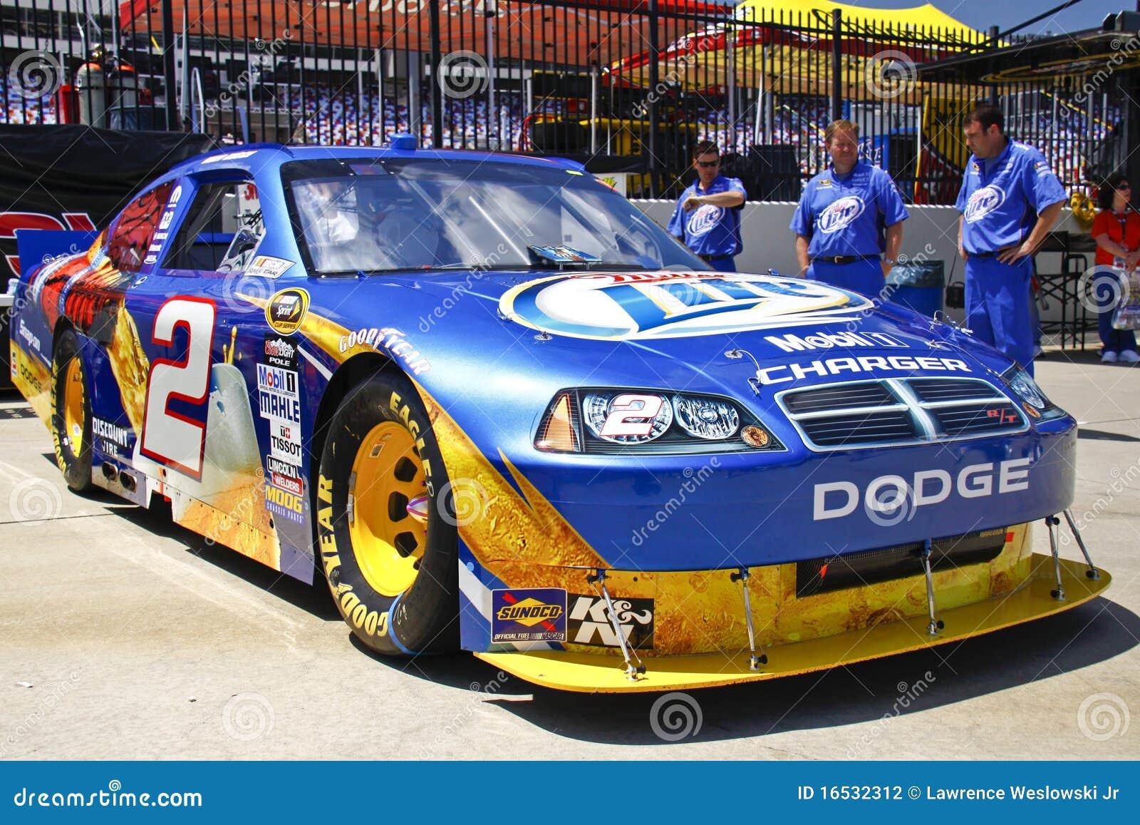 NASCAR - Coca Cola 600 winning car - Kurt Busch #2