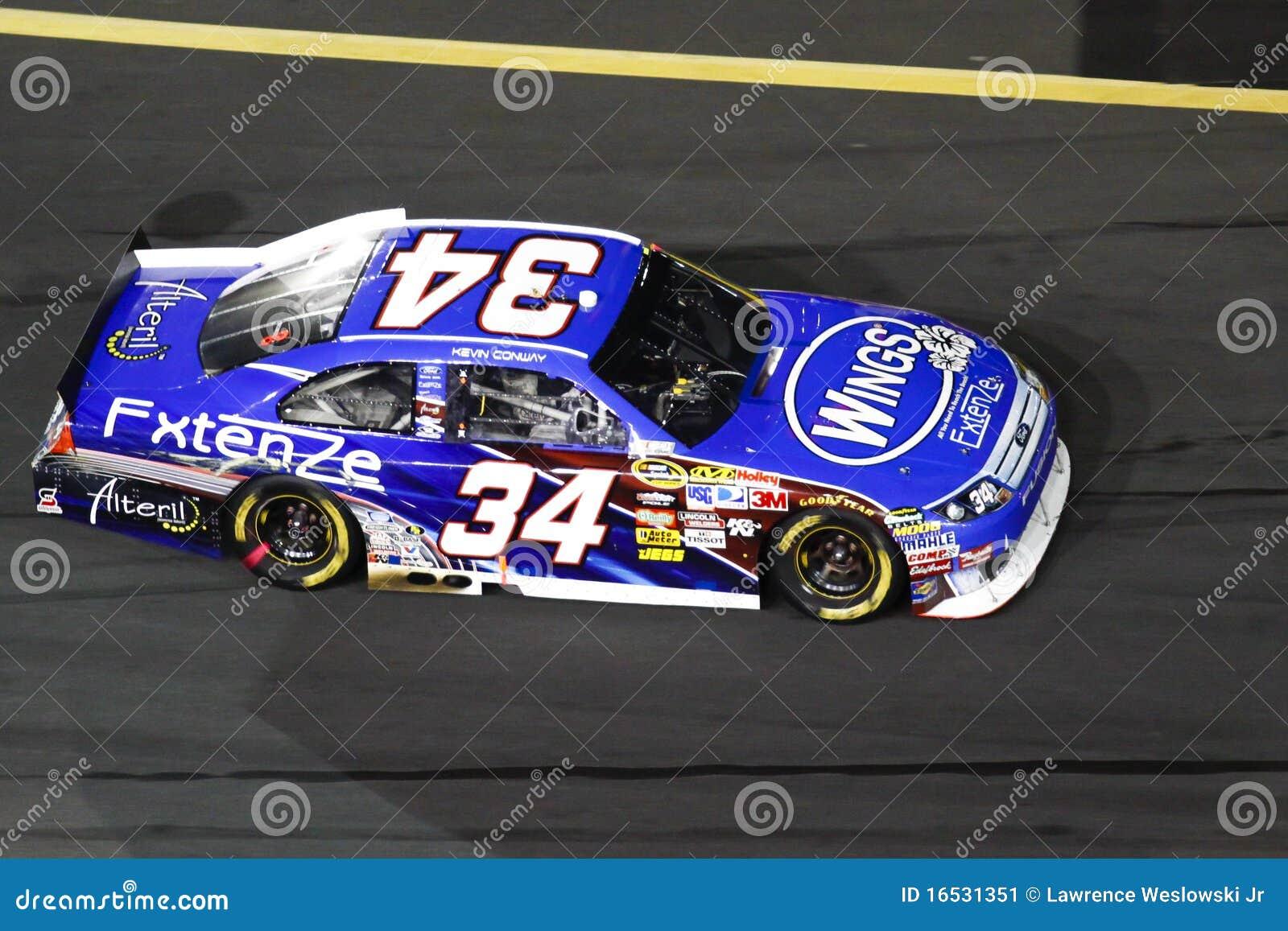 NASCAR - Conway at Charlotte Motor Speedway