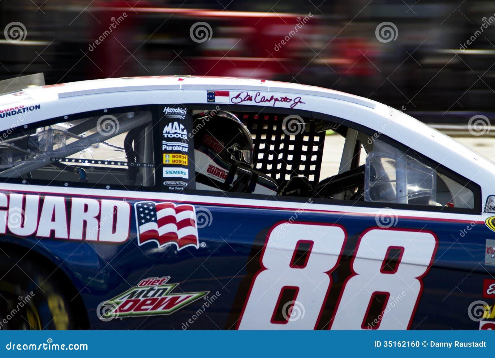 Race Car Sets >> NASCAR Dale Earnhardt Jr. At Phoenix International Raceway Editorial Image - Image: 35162160