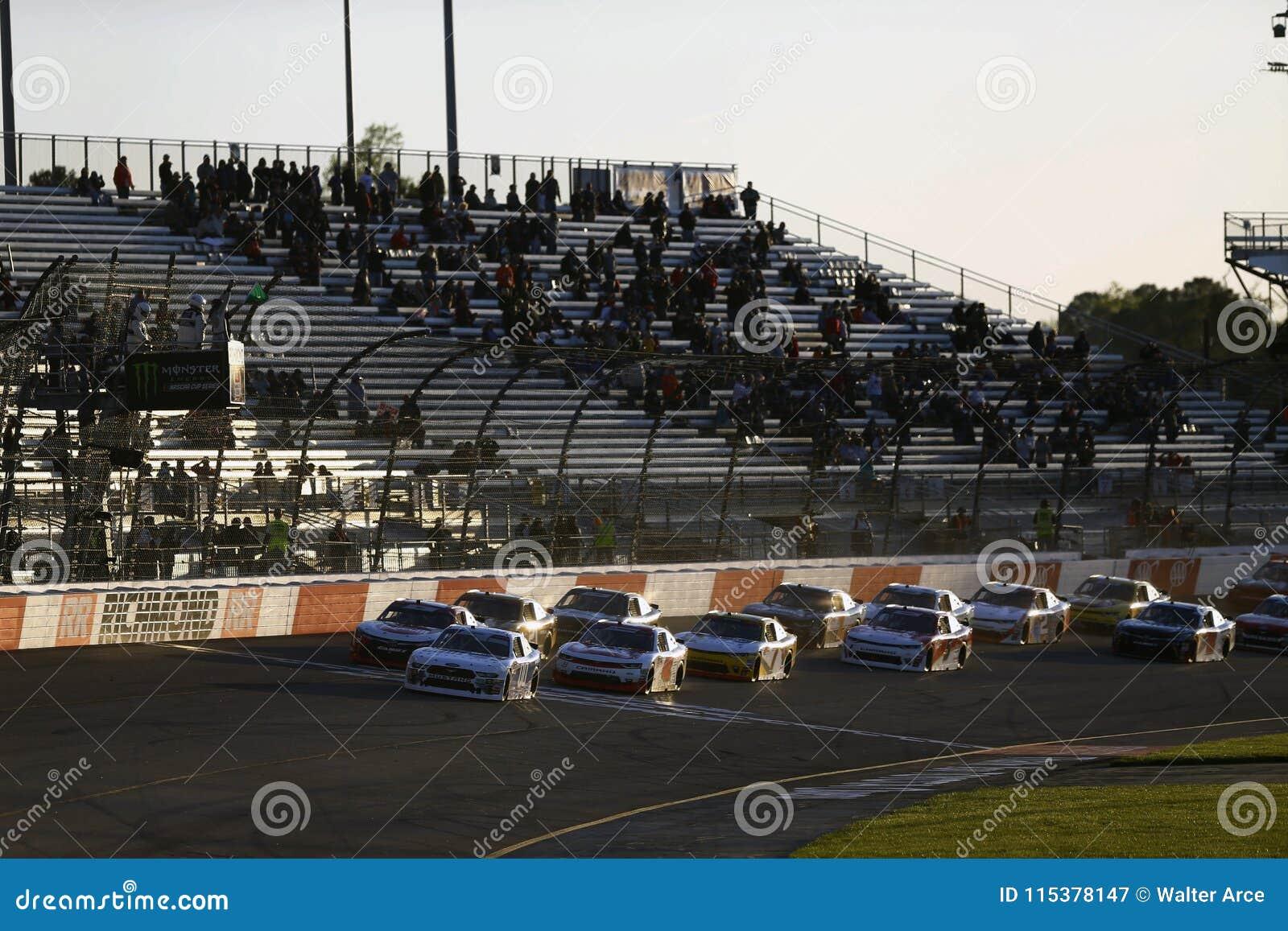 NASCAR: 20 de abril ToyotaCare 250