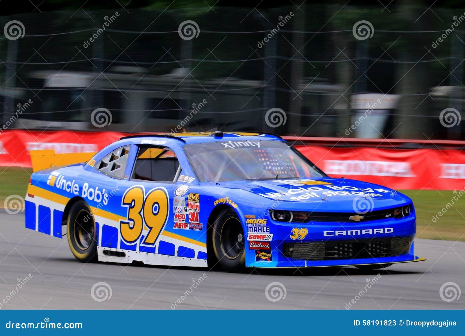 NASCAR Driver Ryan Sieg On The Pavement Editorial Stock Photo ...