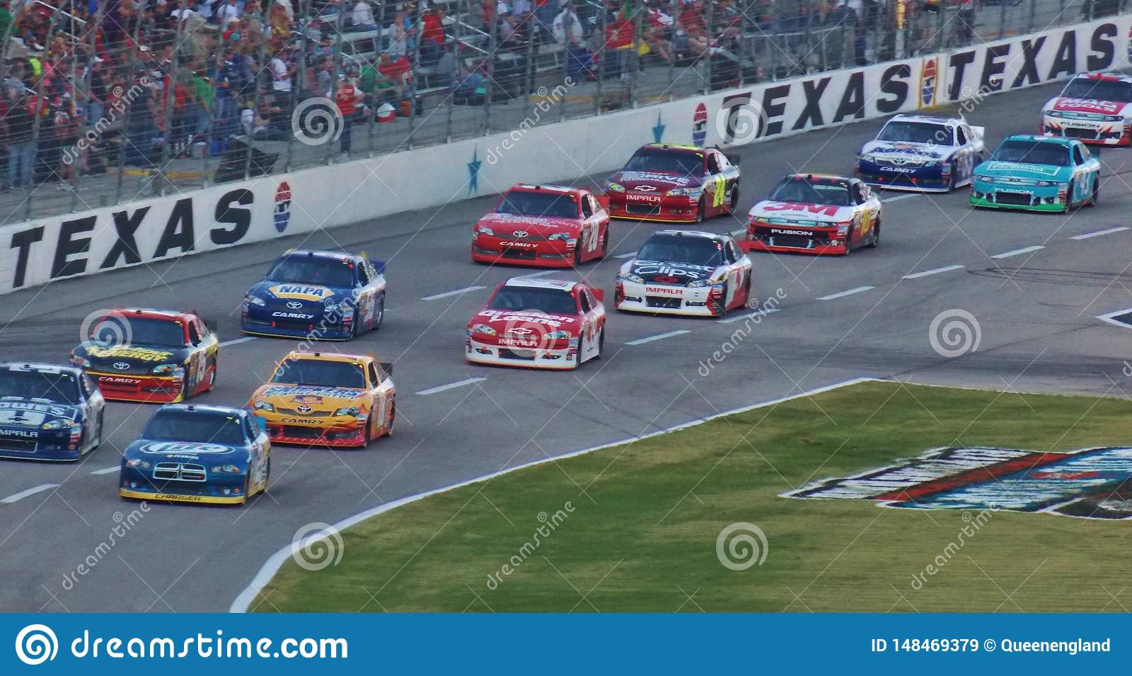 NASCAR em Texas Motor Speedway