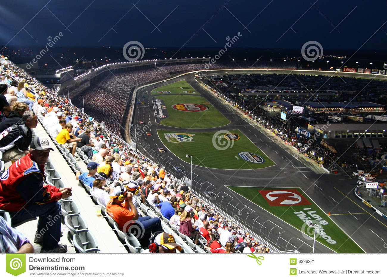 Nascar high above lms 2 editorial photo image 6396221 for Lowe s motor speedway