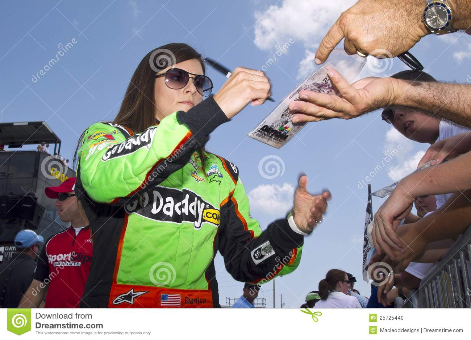 NASCAR: Jul 06 Danica Patrick