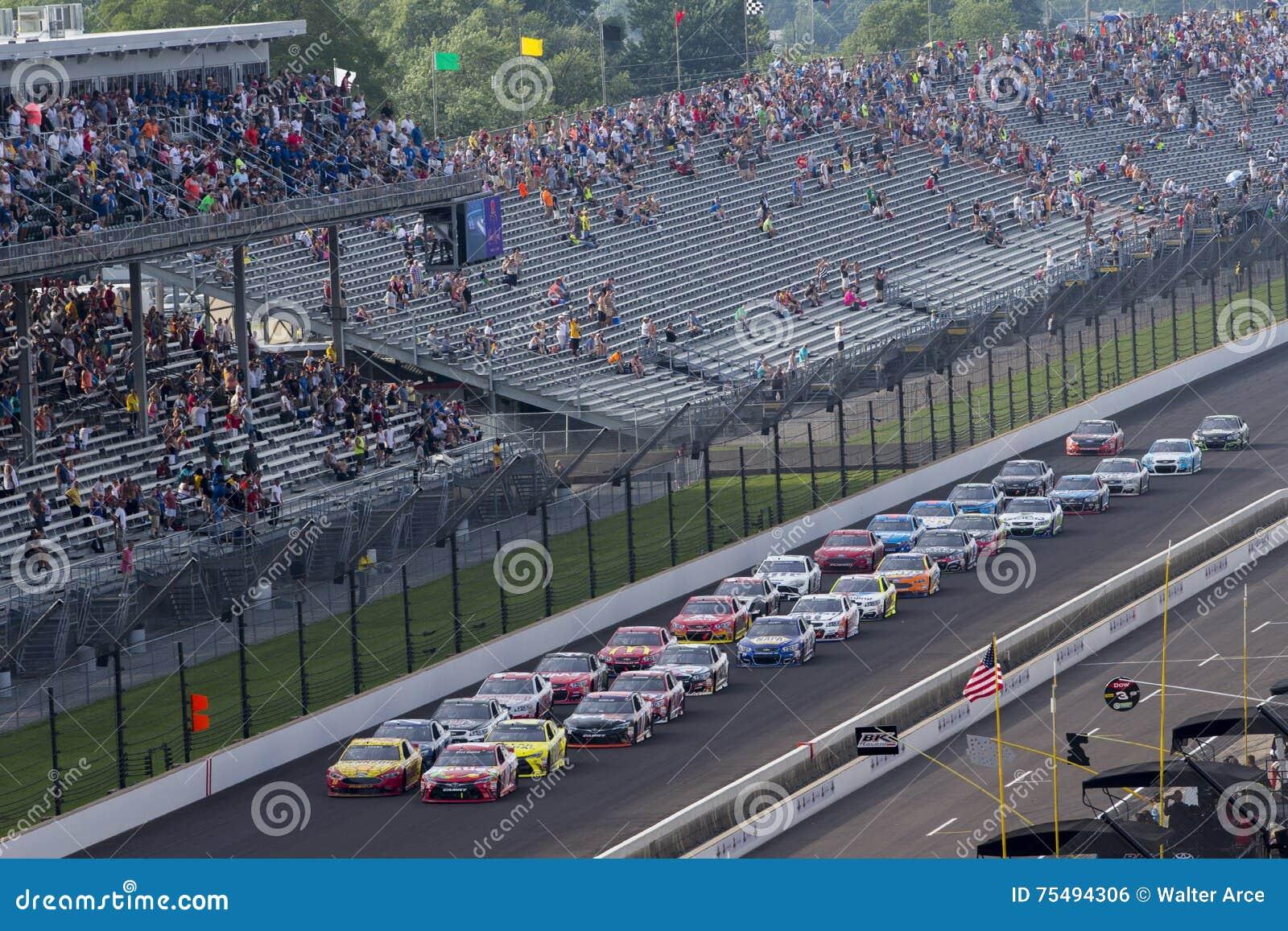 NASCAR: 24 juli Gevecht Gewonde Coalitie 400