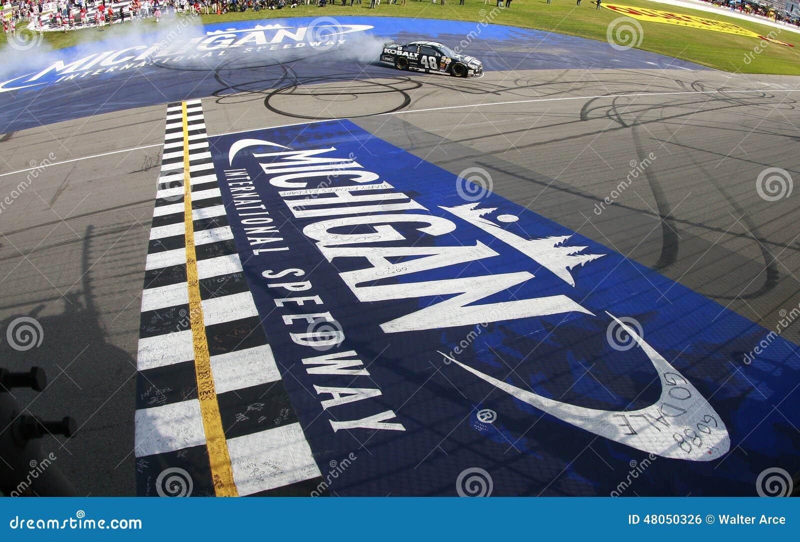 NASCAR: Jun 15 Quicken Loans 400 Editorial Photo - Image of