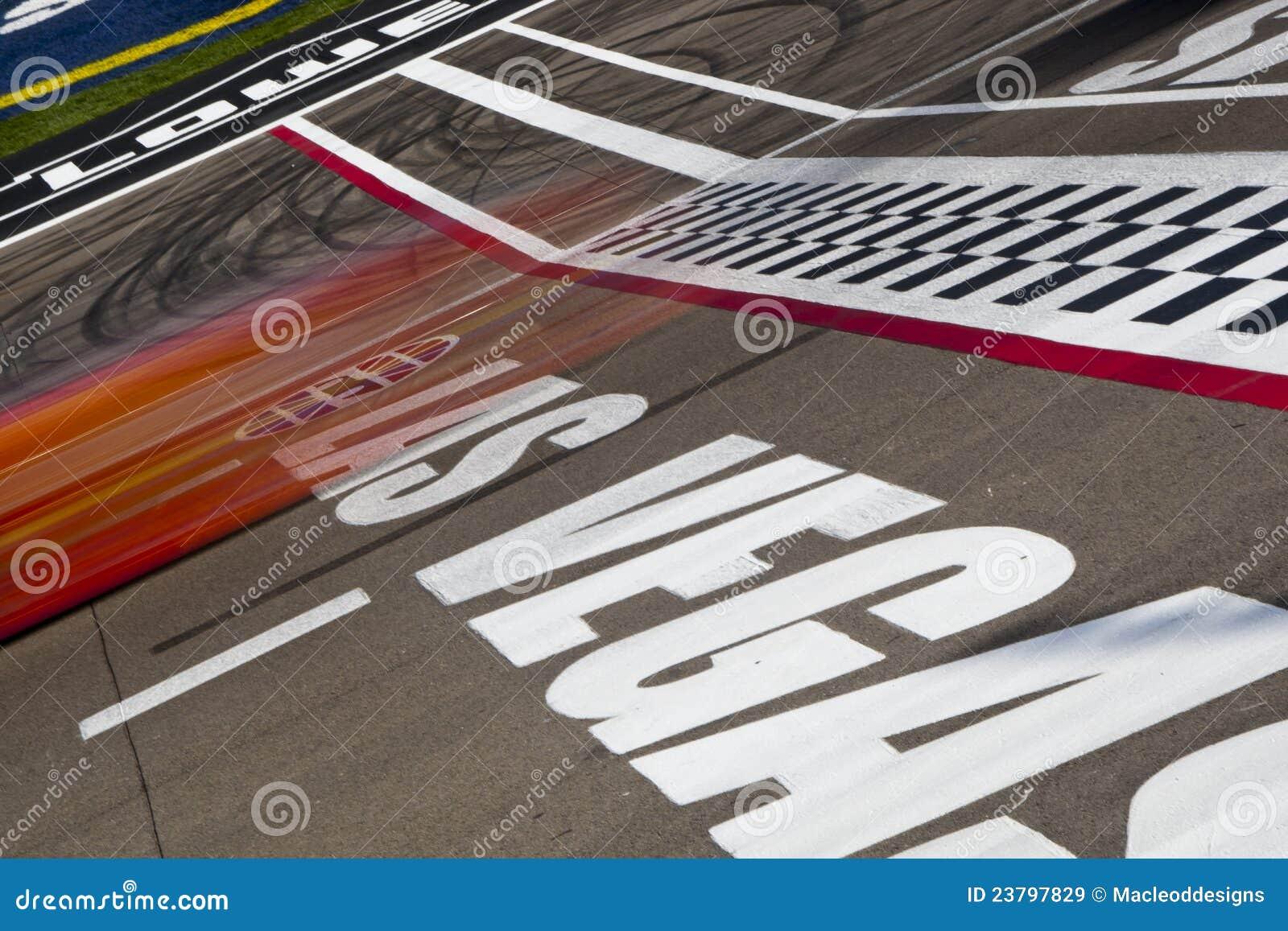 Nascar las vegas motor speedway editorial stock image for Las vegas motor speedway open track days